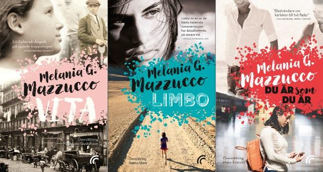 3 nya pockets av Melania G Mazzucco ute 1 juni!